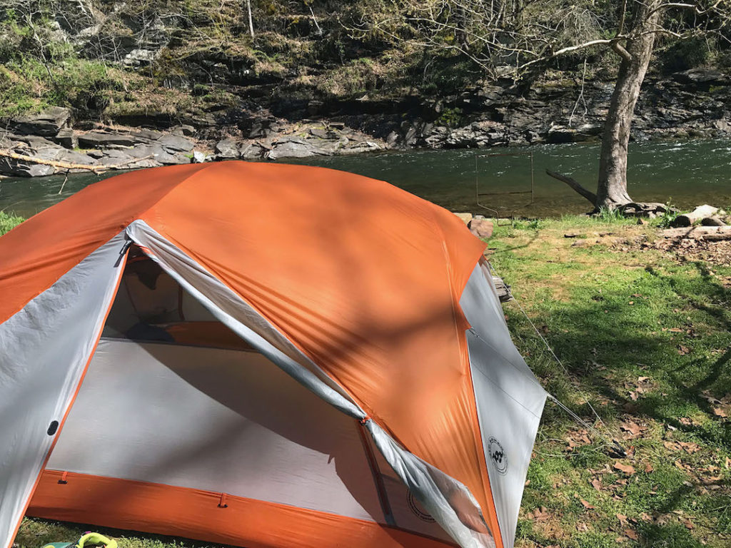 Big Agnes Copper Spur UL 3 - a great choice for 2 people.
